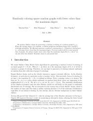 Randomly coloring sparse random graphs with fewer colors than the ...