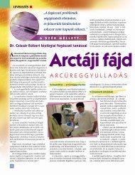 Arctáji fájdalmak 2. - BioDent