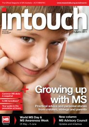 Practical advice and personal stories from children ... - MS Australia