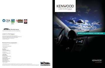 Car Excelon Catalog 2005 - Kenwood