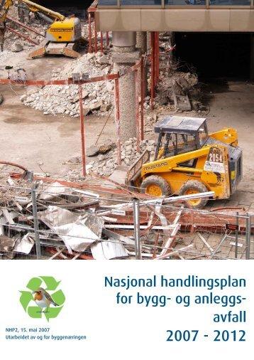 Nasjonal handlingsplan for bygg- og anleggs- avfall