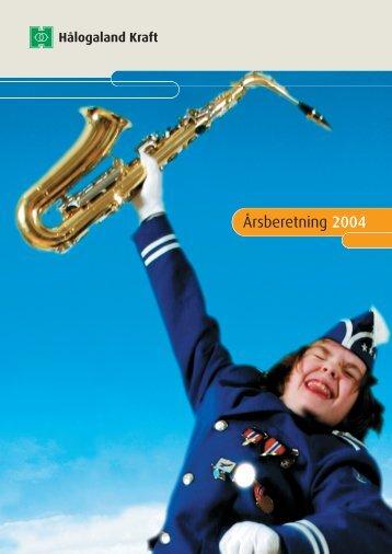 Årsberetning 2004 - Hålogaland Kraft