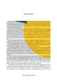 PREFAZIONE - Centro Studi Ettore Luccini