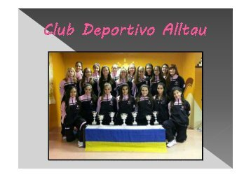 CLUB DEPORTIVO ALLTAU