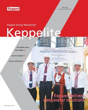 June 2008 - Keppel Corporation