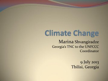 Climate Change - International Partnership on Mitigation and MRV