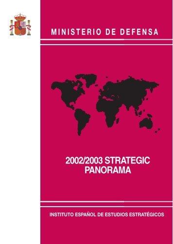 2002/2003 STRATEGIC PANORAMA - IEEE