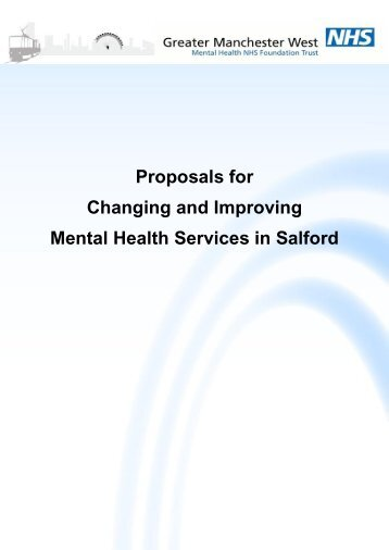 improving mental health services