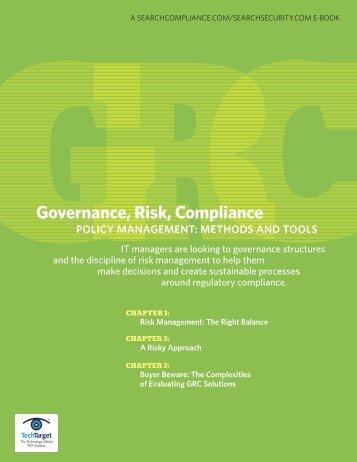 Governance, Risk, Compliance - Bitpipe