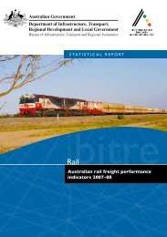 Australian rail freight performance indicators 2007–08 - Bureau of ...