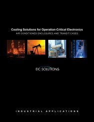 Industrial Applications Brochures - EIC Solutions, Inc.
