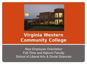 Liberal Arts and Social Sciences - Virginia Western Community ...