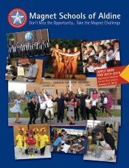 Magnet Schools of Aldine - Aldine Independent School District