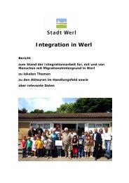Integrationsbericht 2010 - Stadt Werl