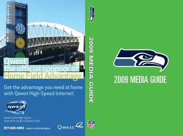 2009 MEDIA GUIDE - Seahawks Online Media Packet
