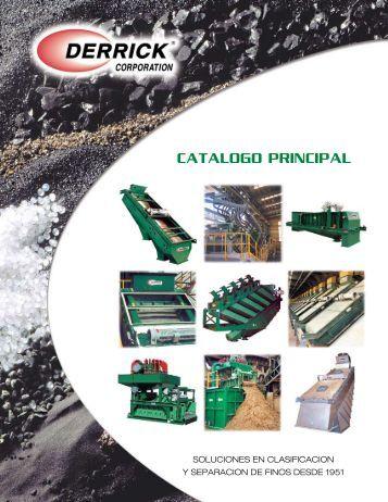 Catalogo PrinCiPal - Derrick Corporation