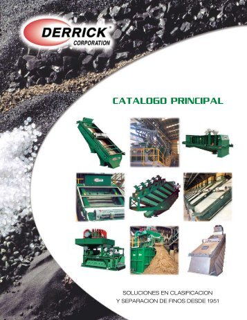 Catalogo PrinCiPal - Derrick Corporation