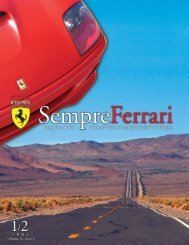 Volume 12 Issue 1 - January/February 2005 - Ferrari Club of ...