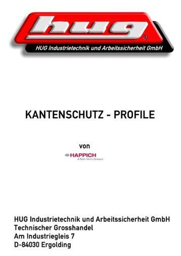 Kantenschutz und Dichtungsprofile Edge ... - hug-technik ergolding