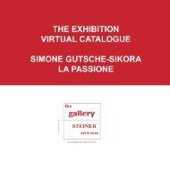 the exhibition virtual catalogue simone gutsche ... - gallery STEINER