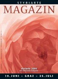 Magazin 1 / 2004 - Styriarte