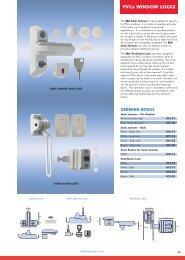 ERA 904-12 Automatic Window Snap Lock White Cut Key