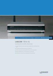 Data Sheet - LANCOM Systems