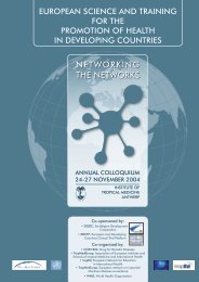 NETWORKING THE NETWORKS - UPCH