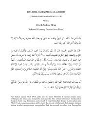 Khutbah Idul Fitri 1434 H Www Kemenag Go Id