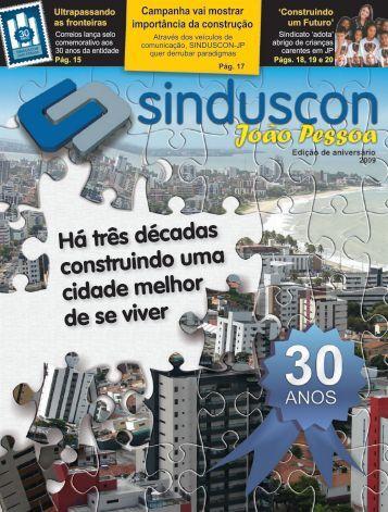 Informativo 30 anos Sinduscon JP