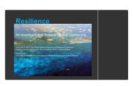 Resilience - University of Miami School of Architecture
