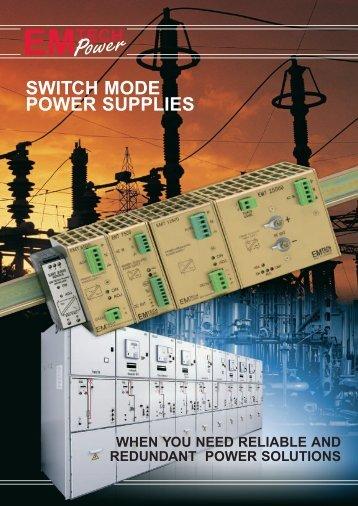 SWITCH MODE POWER SUPPLIES - Emtech Power A/S