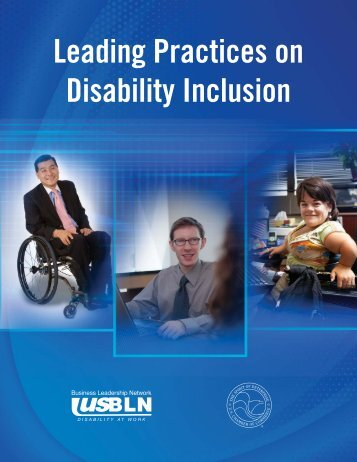 Leading Practices on Disability Inclusion - US Chamber of Commerce