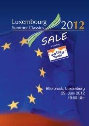 Ettelbruck, Luxemburg 29. Juni 2012 19:00 Uhr - A.L.H. Genetics