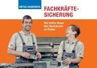 Fachkräftesicherung - Bundesverband Metall