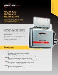 Aurora Micro - Power-One