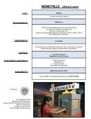 Download Fact Sheet (PDF) - OMSI