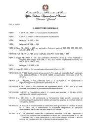 IL DIRETTORE GENERALE - CUB Piemonte