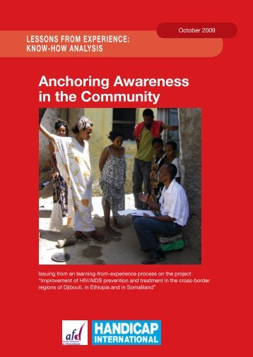 Anchoring Awareness in the Community - Handicap International
