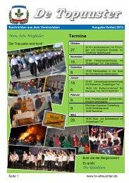 Herbst 2012 - Bürgerverein Ellwürden eV