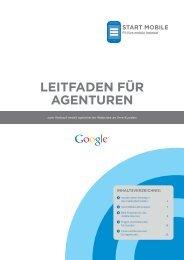 Start Mobile-Leitfaden für Agenturen herunterladen - Google