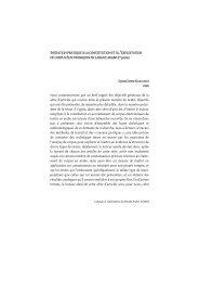 Initiation pratique à la constitution et à l'exploitation de ... - Accueil