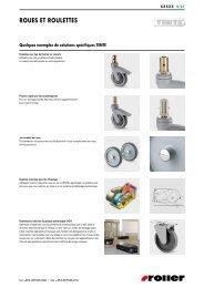 Joints plats, pièces en caoutchouc et éléments d ... - Roller Belgium