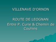 Diapositive 1 - Villenave d'Ornon