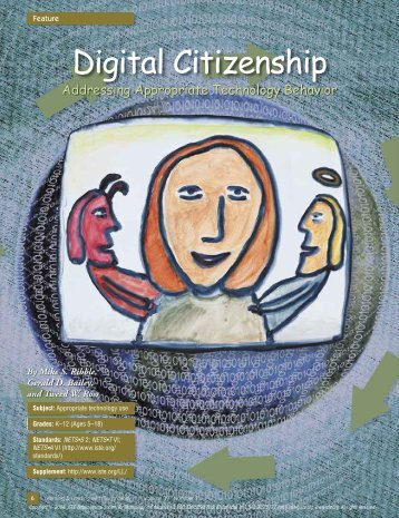 Appropriate technology use - Digital Citizenship