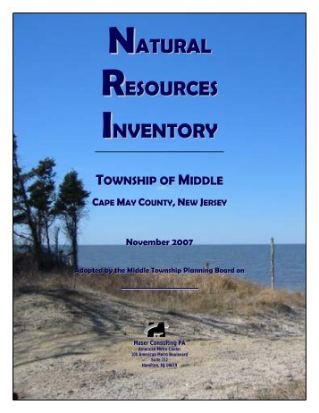 NATURAL RESOURCES INVENTORY - Middle Township