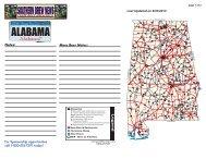 Alabama Good Beer Map - Brewing News