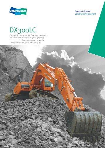 DX300LCA (sobre orugas) - Doosan BobCat Chile