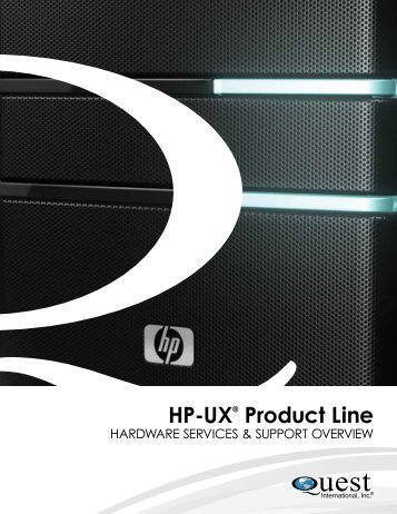 HP Overview - Quest International