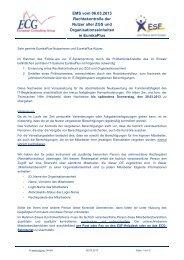 EMS vom 06.03.2013 Rechtekontrolle der ... - ECG GmbH Berlin